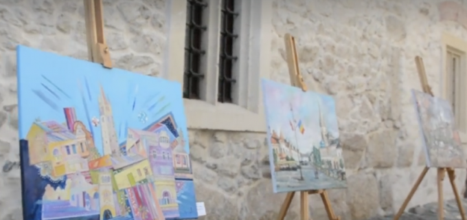 VIDEO: Vernisajul primei editii a Concursului Municipal de Pictură