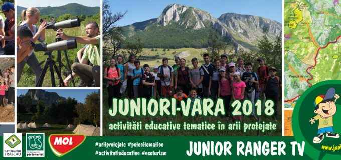 JunioriVara 2018 – activitati educative tematice in arii protejate