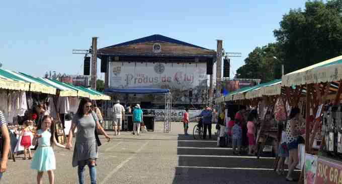 Asociatia Produs de Cluj a aniversat la Câmpia Turzii a 75-a editie a târgurilor dedicate producătorilor şi artizanilor