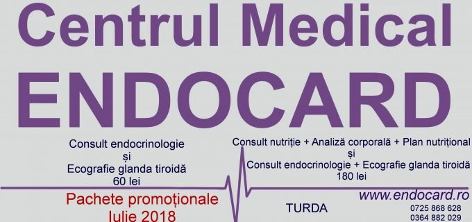 (P) Pachete promotionale la Centrul Medical EndoCard Turda