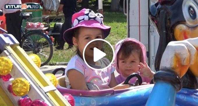 VIDEO: A început sărbătoarea copiilor la Câmpia Turzii