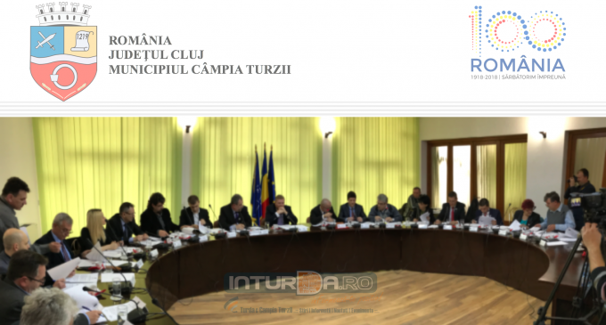Consiliul Local al Municipiului Câmpia Turzii, convocat în ședintă extraordinară