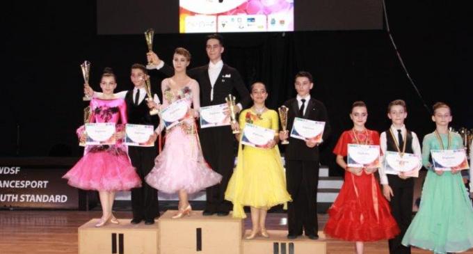 Dansatorii turdeni au participat la Concursul International de la Timisoara