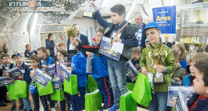 Foto/VIDEO: Festivitatea de premiere a Festivalului International de Șah găzduit de Salina Turda
