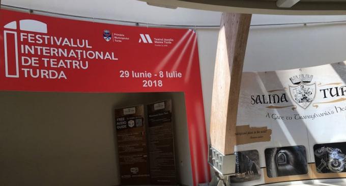 Salina Turda promovează Festivalul International de Teatru