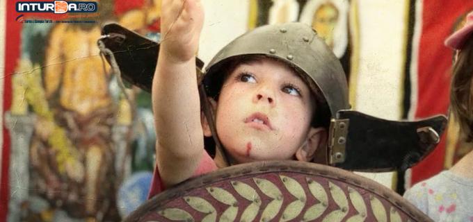 VIDEO/Foto: Simulare de lupte și ateliere didactice la Castrul Roman
