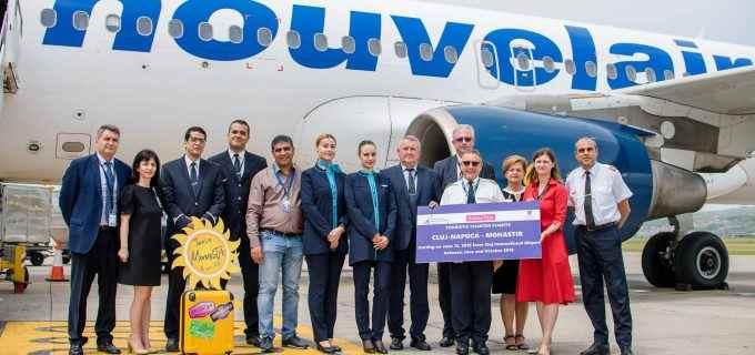 """Aeroportul Internațional """"Avram Iancu"""" Cluj a inaugurat zborurile charter turistice spre Tunisia"""
