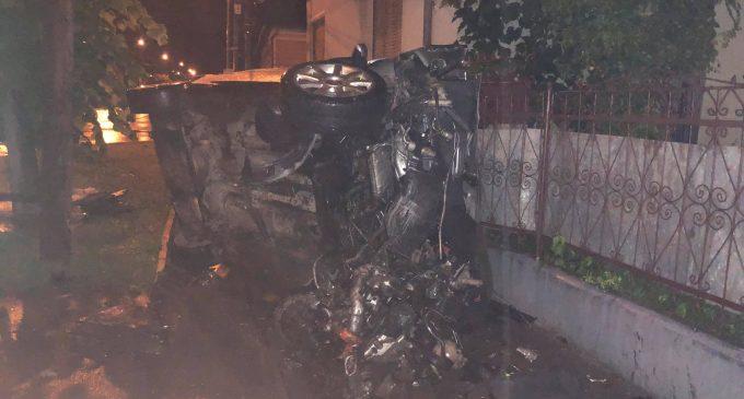 VIDEO: Accident grav pe strada Alexandru Ioan Cuza din municipiul Turda