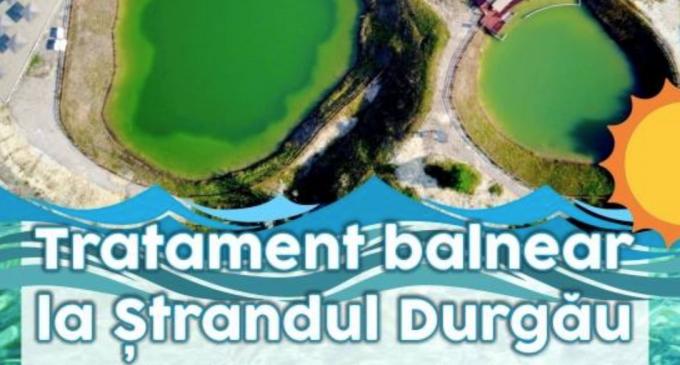 Tratament balnear la Ștrandul Durgău de lângă Salina Turda