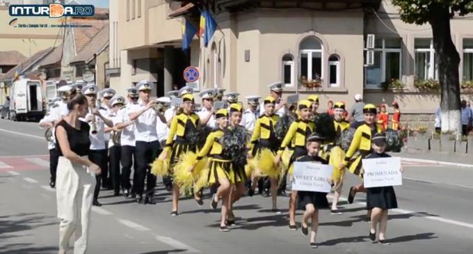 """VIDEO: Festivalul Național de Fanfară și Majorete """"Promenada Verii"""" 2018"""