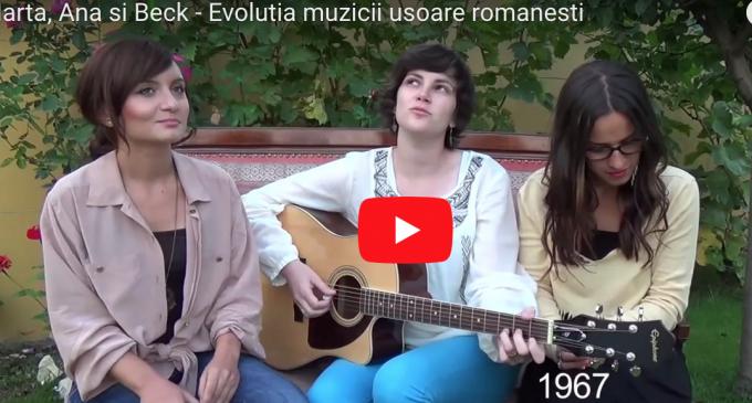 Le mai știi pe cele trei tinere devenite celebre pentru videoclipul Evolutia Muzicii Românești? Beck, Ana și Marta concertează la Turda în această săptămână