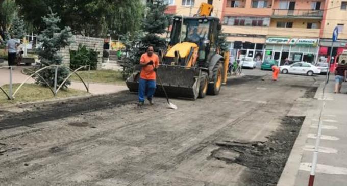 Foto: Una dintre cele mai problematice străzi din Câmpia Turzii va fi complet reabilitată