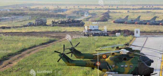 Peste jumătate de miliard de lei alocați anul acesta pentru extinderea bazei militare aeriene din Câmpia Turzii