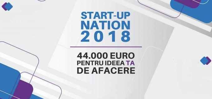 Calendar estimativ Start-up Nation 2018. Depunerea proiectelor începe în curând.