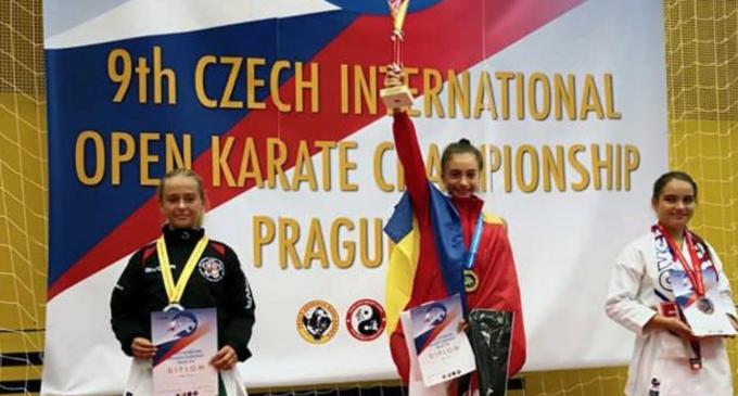 Turdeanca Maria Simina Morar a cucerit două medalii de aur la Praga