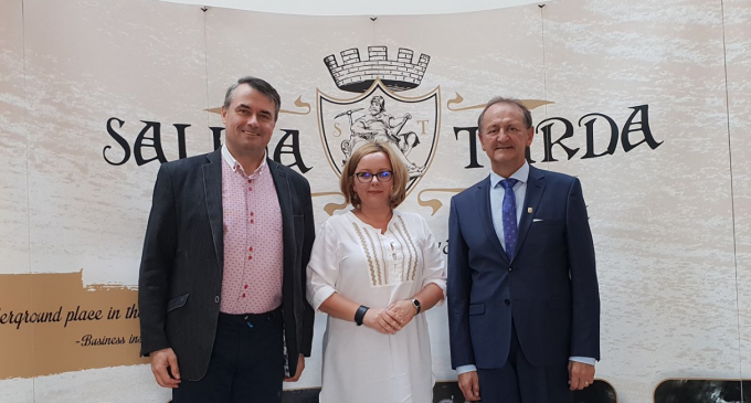 Ambasadorul Republicii Slovacia în România, Excelența sa Karol Mistrik, a vizitat Salina Turda