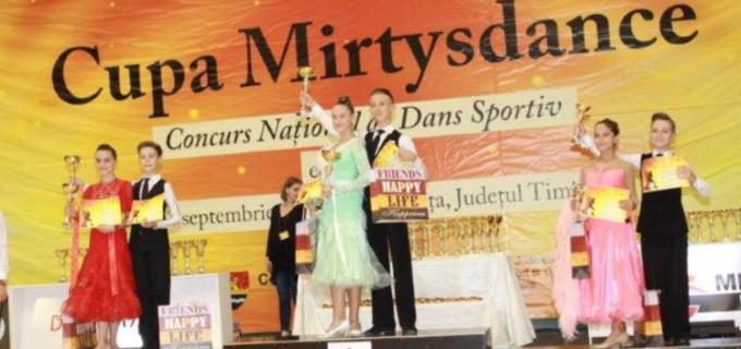 """Clubul de Dans Sportiv Potaissa Turda a participat la Cupa """"Mirtys Dance"""" de la Timisoara"""