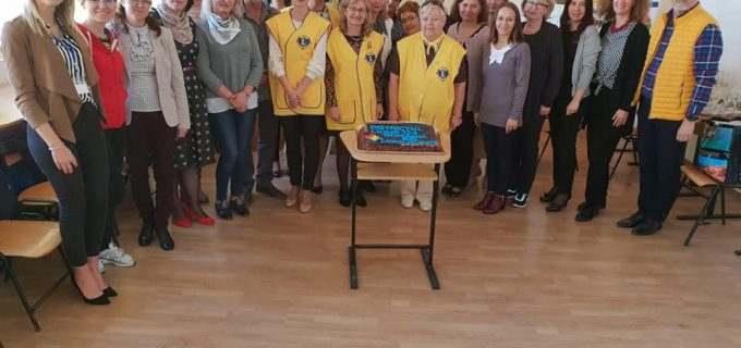 """La Școala Gimnazială """"Avram Iancu""""Turda s-a organizat al 50-lea seminar Lions Ques"""