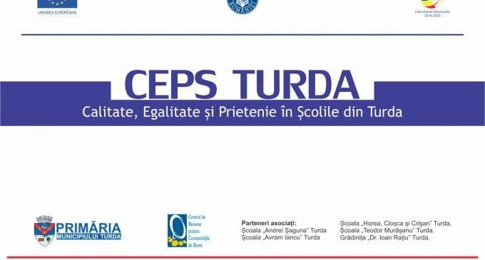"""ANUNȚ RECRUTARE CADRE DIDACTICE (program part-time) ÎN CADRUL PROIECTULUI """"CEPS TURDA"""""""