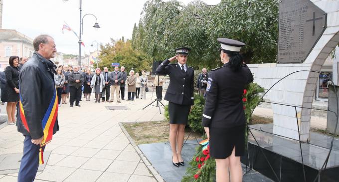 Martirii de la Hărcana, comemorati de autoritătile locale de la Turda