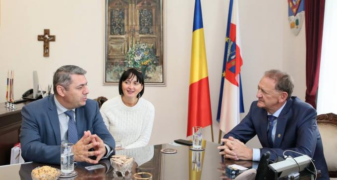 Ambasadorul Republicii Armenia în România, Excelența Sa Sergey Minasyan, în vizită oficială la Turda
