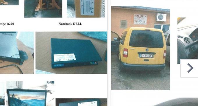 ANAF scoate la licitatie laptopuri și o autoutilitară VW Caddy. Vezi care este pretul de pornire