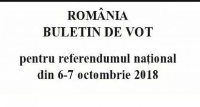 DISPOZITIE  privind delimitarea si numerotarea sectiilor de votare in vederea desfasurarii referendumului national pentru revizuirea Constitutiei