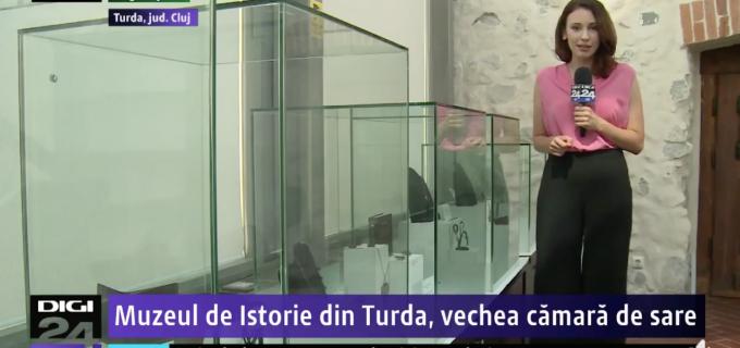 VIDEO – Reportaj Digi24: Muzeul de Istorie Turda, vechea cămară de sare