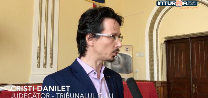 VIDEO: Cristi Danileț, lecţie de educaţie juridică la CNMV Turda