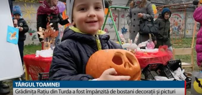 TVR: Cel mai așteptat eveniment al sezonului a fost sărbătorit ca la carte la o grădinită din Turda