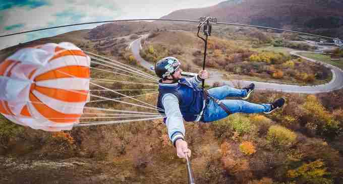 S-a dat startul noului sezon de distracție și adrenalină la Tiroliana Cheile Turzii