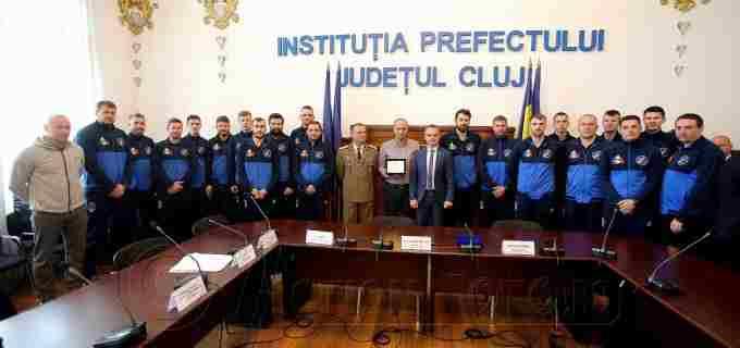 """AHC Potaissa Turda – """"ONOARE PENTRU CLUJ – Cu dumneavoastră Clujul este mai bogat!"""""""