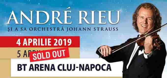 Interes uriaş – André Rieu va susţine un al doilea concert la Cluj! Biletele primului concert, epuizate în 3 ore!