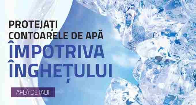 Protejati contoarele de apă împotriva înghețului! Măsuri necesare pentru protejarea instalaţiei de apă