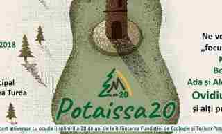 """Concert aniversar""""POTAISSA 20"""", organizat cu prilejul împlinirii a 20 de ani de la înființarea Fundației de Ecologie și Turism Potaissa"""