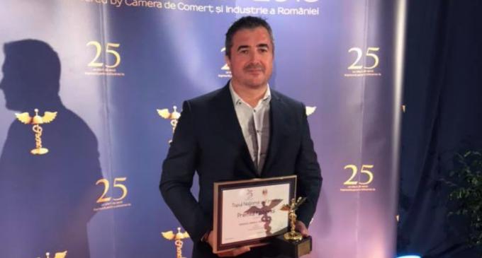 ARHIVATORUL a obtinut Premiul National Locul II oferit de Camera de Comert și Industrie a României