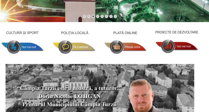 VIDEO: Primăria Câmpia Turzii și-a lansat noul site. Vezi ce facilităti aduce cetătenilor noul format