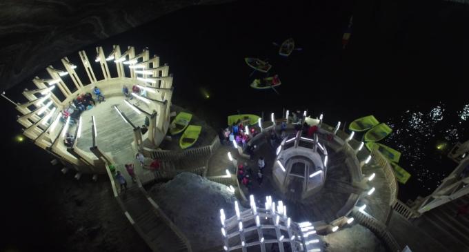 EuropaFm.ro: Cum îi cucerește SALINA TURDA pe turiști