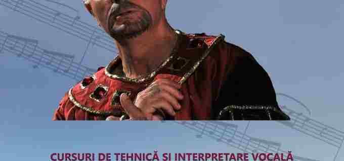 Cursuri de tehnică și interpretare vocală MASTER CLASSES, la Turda!