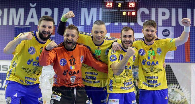 VIDEO: Potaissa Turda a reușit să oprească seria de opt victorii consecutive ale celor de la HC Dobrogea Sud Constanta