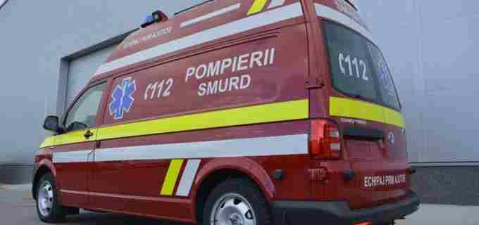 O mamă și trei copii din Cluj, scoși din casă de pompieri după ce s-au intoxicat cu gaz