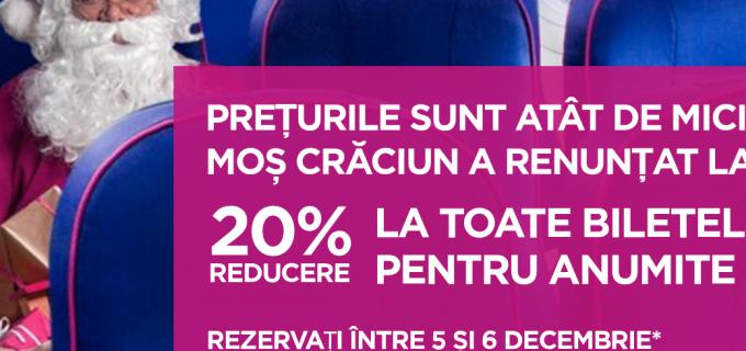 Reduceri mari la WizzAir în zilele de 5 și 6 decembrie