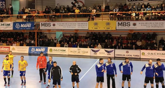 VIDEO: CSM București s-a calificat în semifinalele Cupei României în urma aruncărilor de la 7 metrii