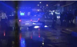 Șofer băut, implicat într-un accident rutier soldat cu pagube materiale, oprit cu focuri de armă în Turda