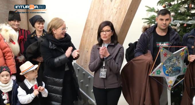 VIDEO: Surpriză pentru un angajat al Salinei Turda
