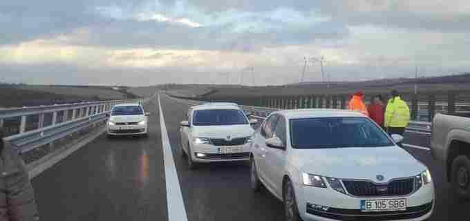 Foto/Video: Astăzi se deschide circulatia pe încă 13 km din autostrada Câmpia Turzii-Târgu Mureș