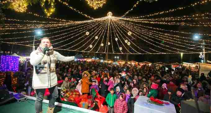 Târgul de Crăciun Turda și-a deschis portile