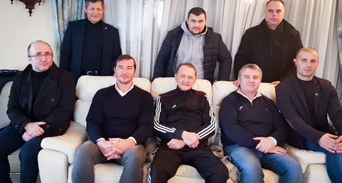 Primarul municipiului Turda a primit vizita delegatiei Federatiei Române de Rugby