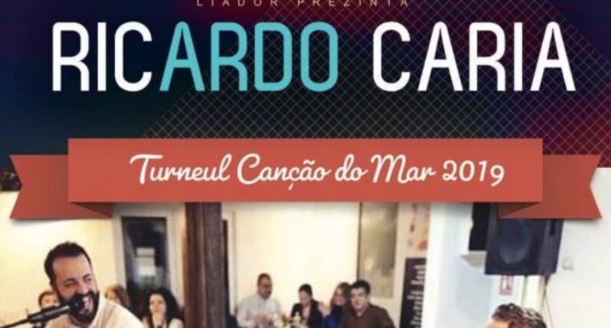 Ricardo Caria revine la Câmpia Turzii pentru un recital