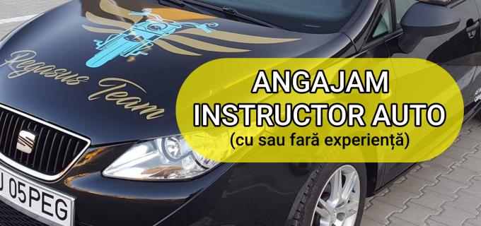 Pegasus Team Turda angajează instructor auto